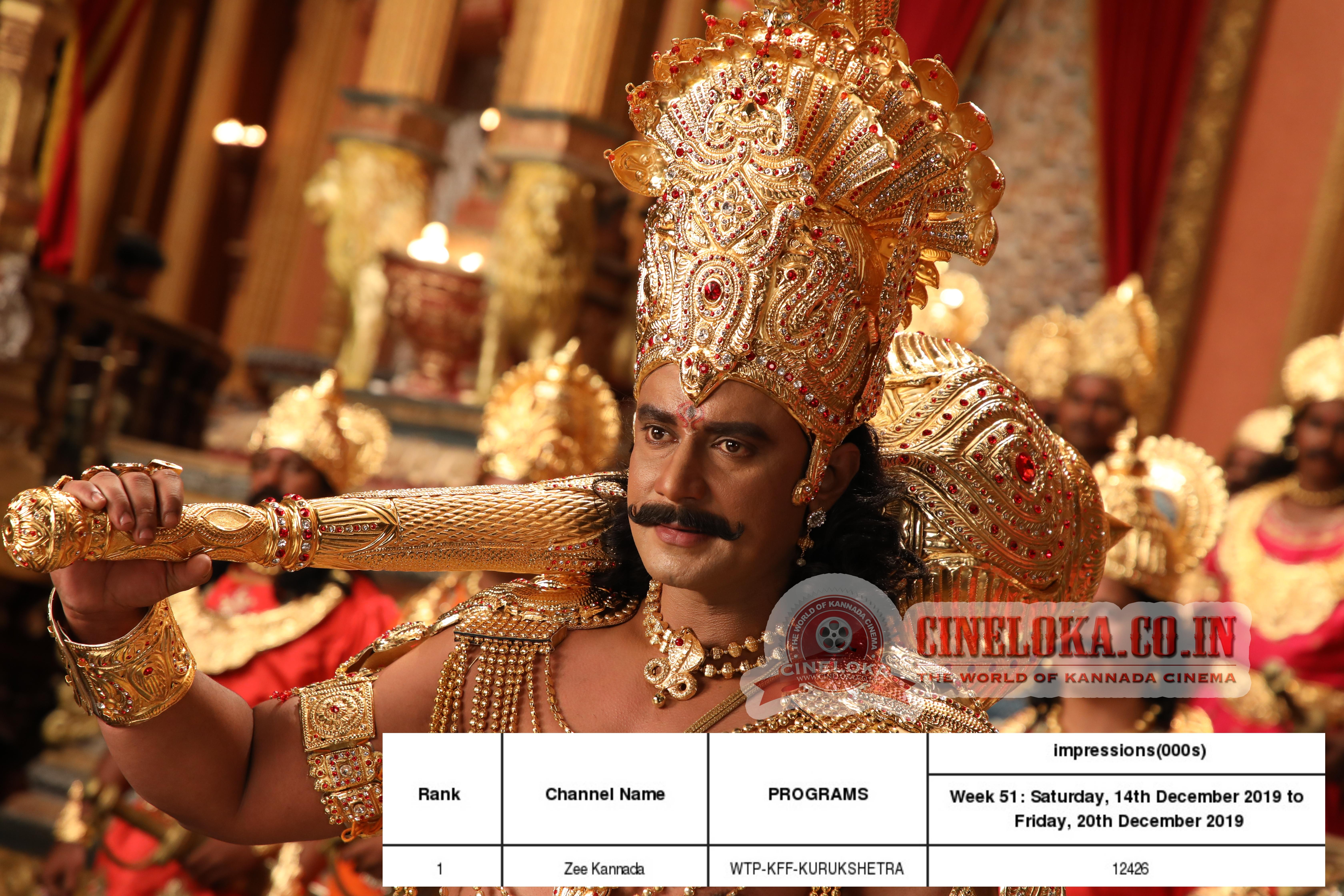 Darshan's 'Kurukshetra' achieves record TRP impressions