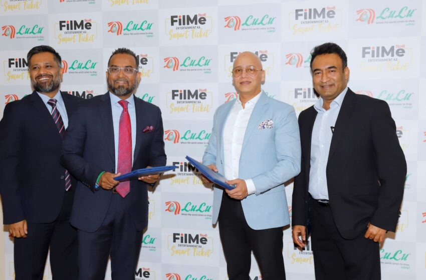 Gulf's retail giant, Lulu partners with an innovative platform, FilMe to exclusively release and sell movies